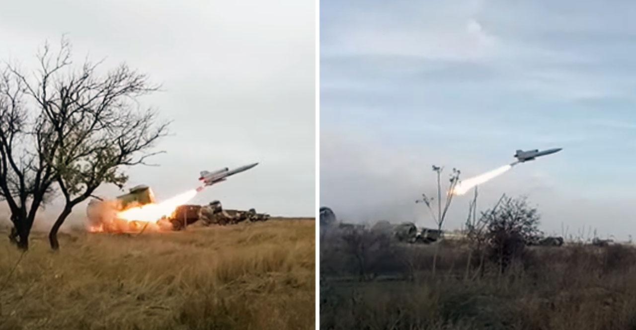"""В ролі """"крилатих ракет"""" виступали радянські розвідувальні БПЛА Ту-143 """"Рейс"""""""