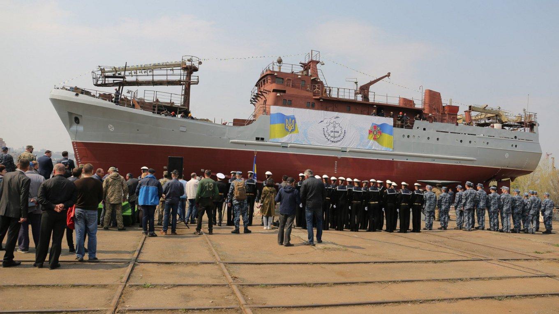 Розвідувальний корабель для ВМС України