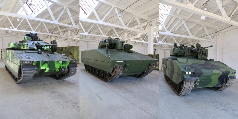 CV90, Ascod 42 чи Lynx KF41