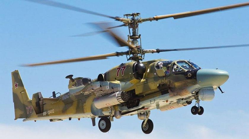 число втрат РФ у Сирії, Defense Express, Ка-52