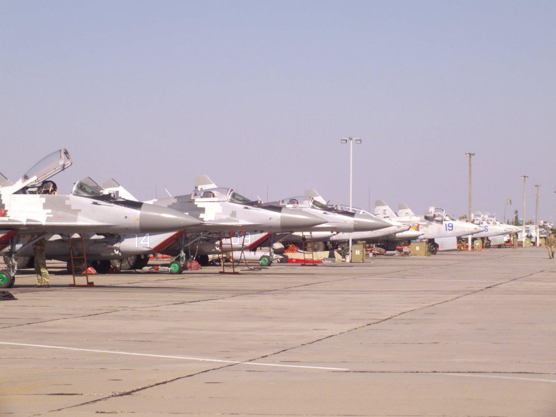 Міг-29 Су-25 ПС