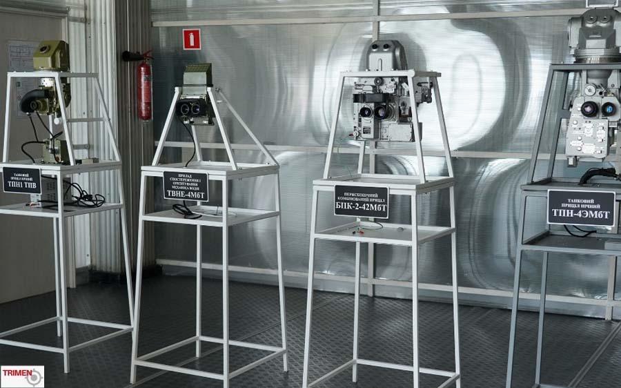 Нічні тепловізійні приціли ТПН-4ЕМбТ, ТПН-1-ТПВ, комбінований денно-нічний приціл навідника БПК-2-42МбТ та прилад нічного бачення ТВНЕ-4 МБТ від