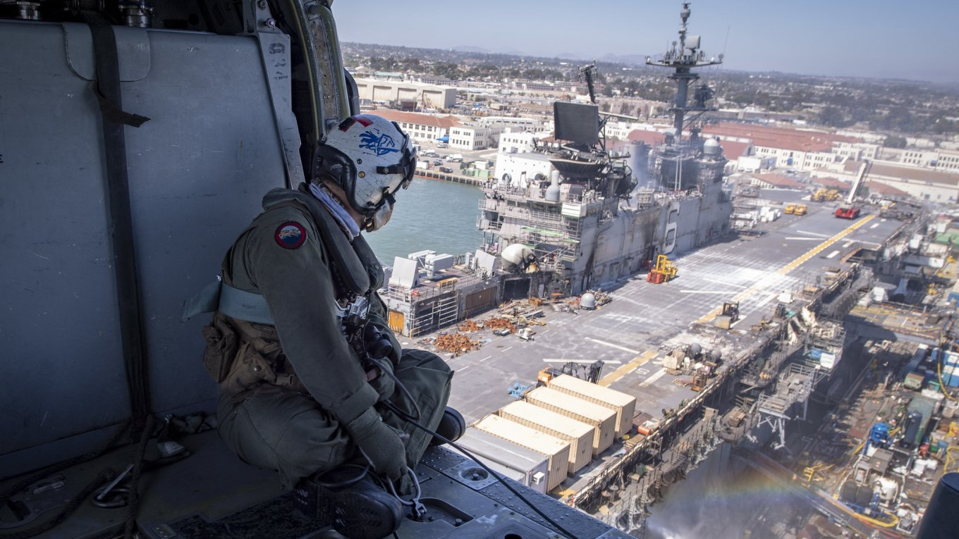 Пожежа на USS Bonhomme Richard
