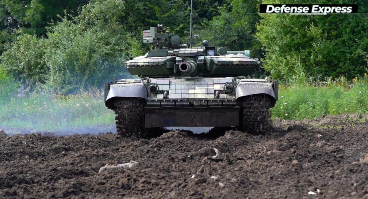Т-64 з доробками після капремонту у Львові