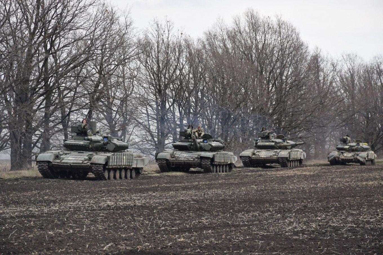 Т-64БВ 1-ої окремої танкової бригади ЗСУ