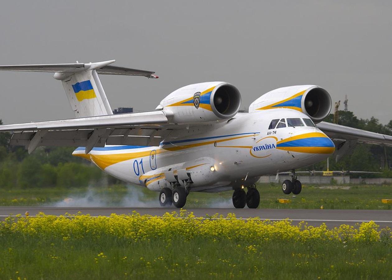 Багатоцільовий транспортний літак Ан-74