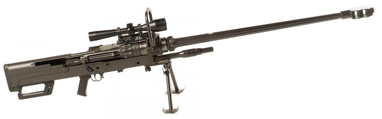 Mechem NTW-20. Вага, в залежності від модифікації: 26-29 кг, прицільна дальність пострілу: 1500-2300 м.