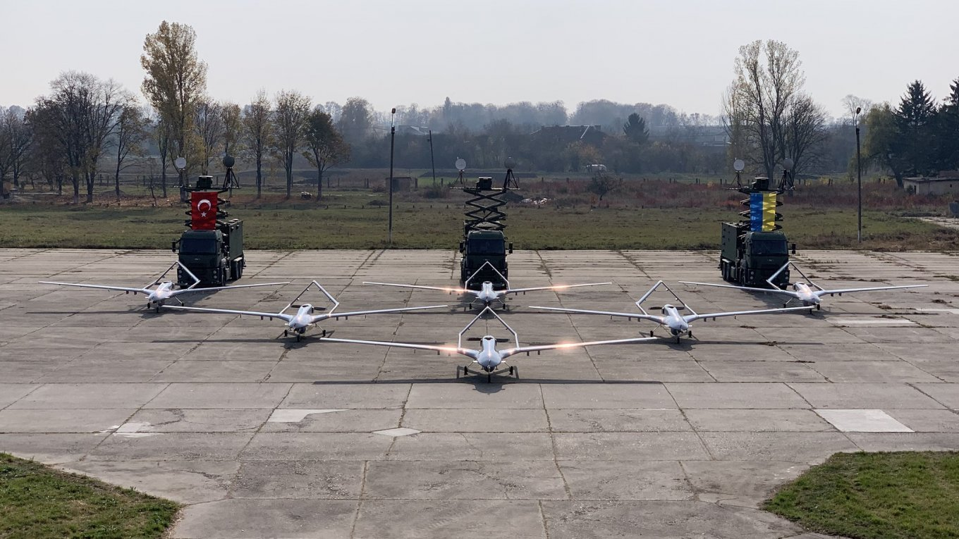 The composition of the last delivery of Bayraktar TB2 to the Armed Forces: 6 drones, 3 stations, several hundred MAM-L, training, etc.