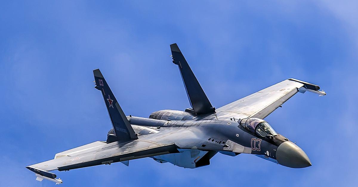 Багатоцільовий винищувач Су-35