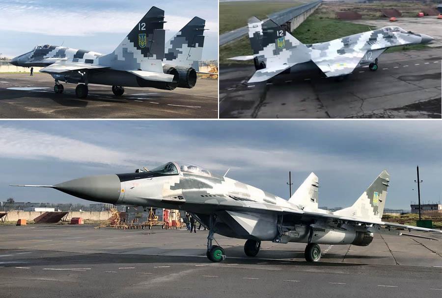 Фронтовий винищувач МіГ-29МУ2 почав проходити випробування на військовому аеродромі ЗСУ
