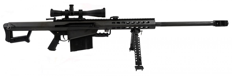 Barrett M82. Патрон: 12,7×99. Вага, в залежності від модифікації, 13-15 кг. Ефективна дальність пострілу: 1800 м.