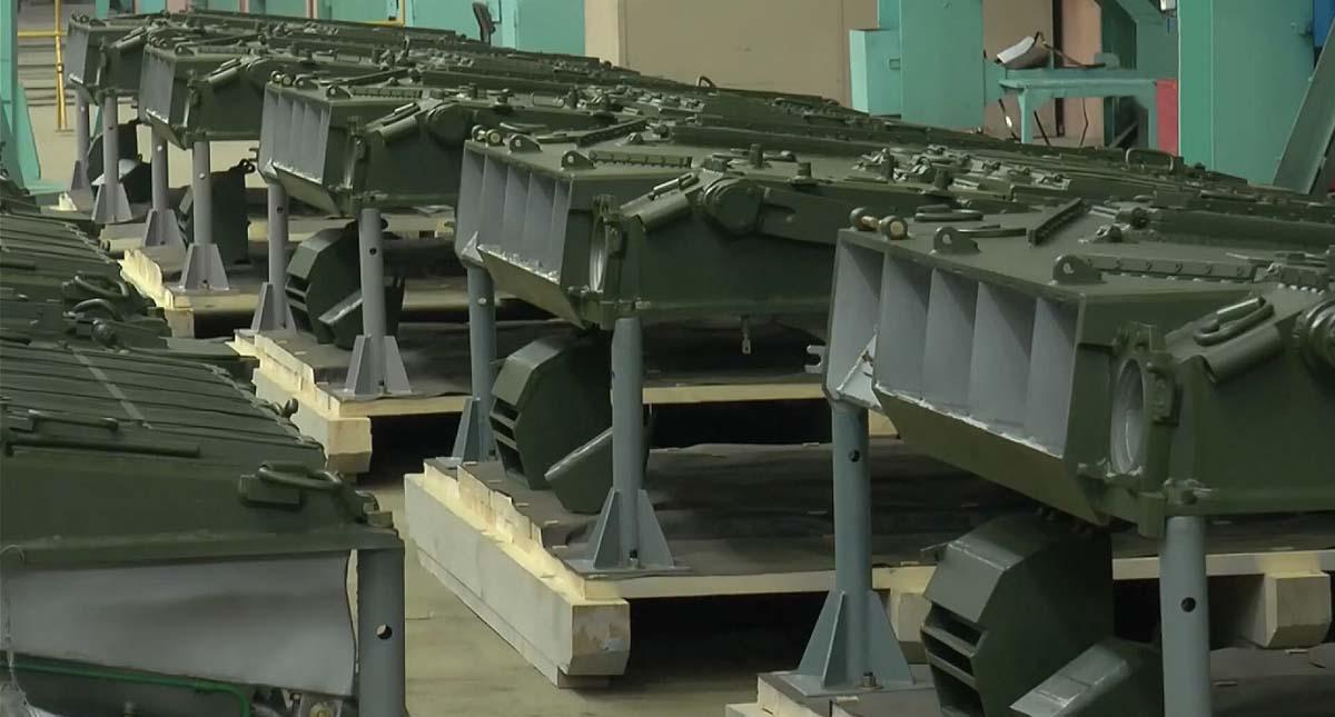 Нові МТО для пакистанських танків в цеху Заводі ім. Малишева