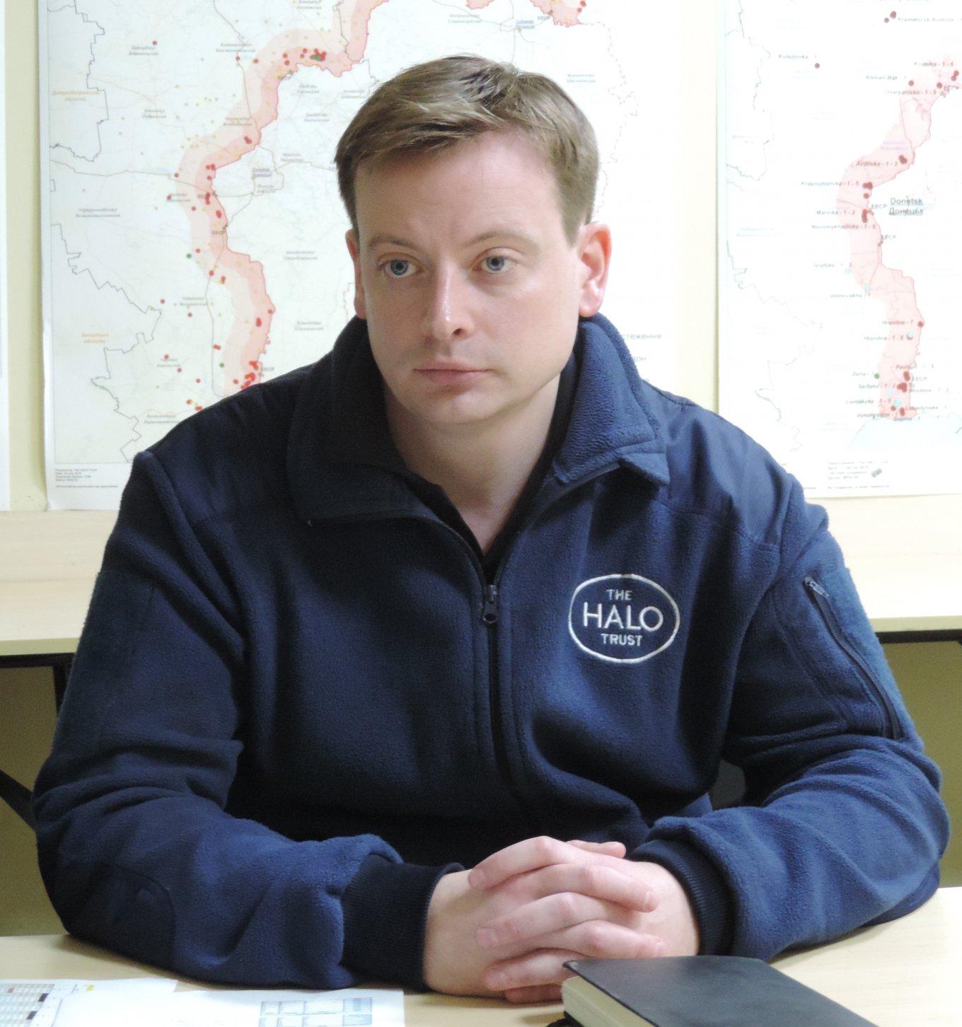 Керівник програми The HALO Trust в Україні Тобіас РОБІНСОН