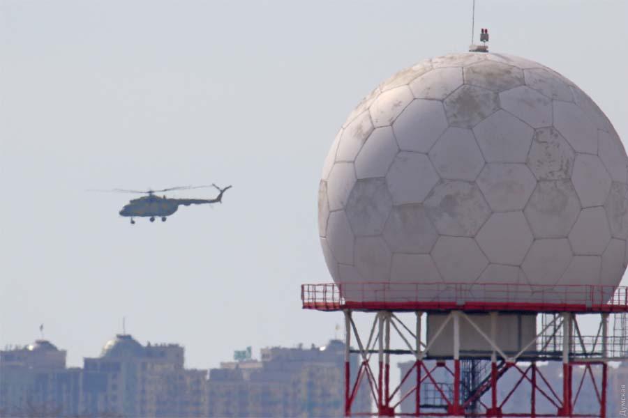 Гелікоптер Мі-8 армійської авіації ЗСУ
