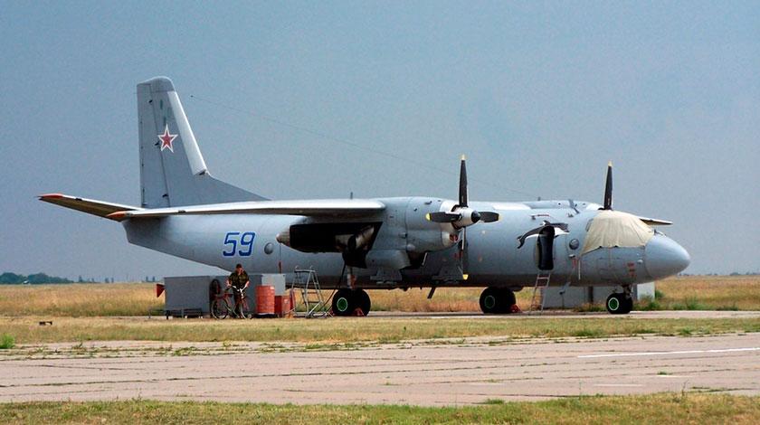 число втрат РФ у Сирії, Defense Express, Ан-26