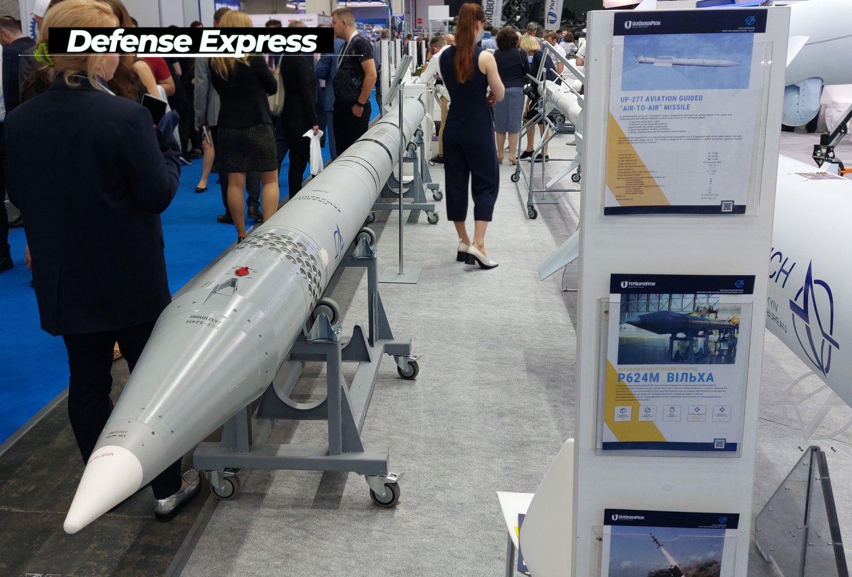 Коригований реактивний снаряд Р626М Вільха-М від КБ Луч на виставці Зброя та Безпека-2021
