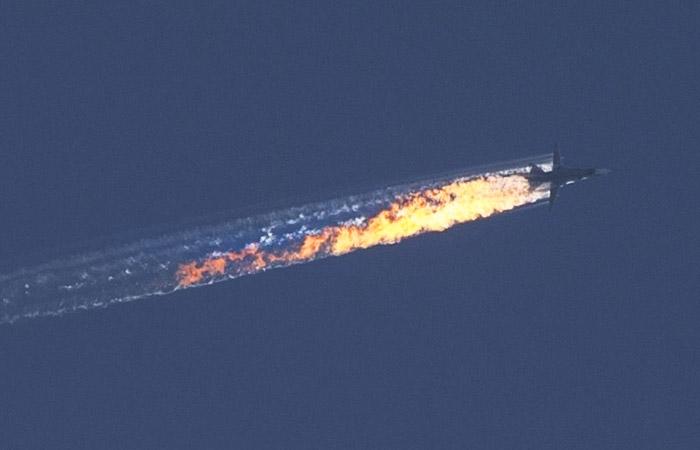 число втрат РФ у Сирії, Defense Express, Су-24м збитий турецьким F-16
