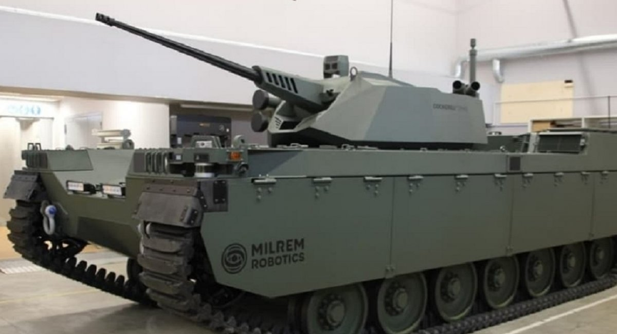 Milrem Robotics,  Type-X, Defense Express,