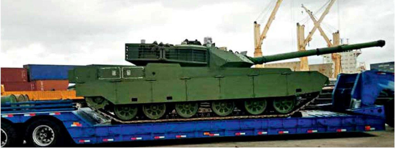Нігерійський танк VT-4