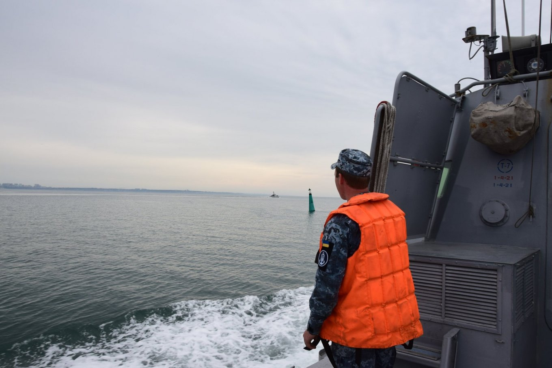 МБАК Військово-Морських Сил Збройних Сил України в ході виходу в море, Defense Express