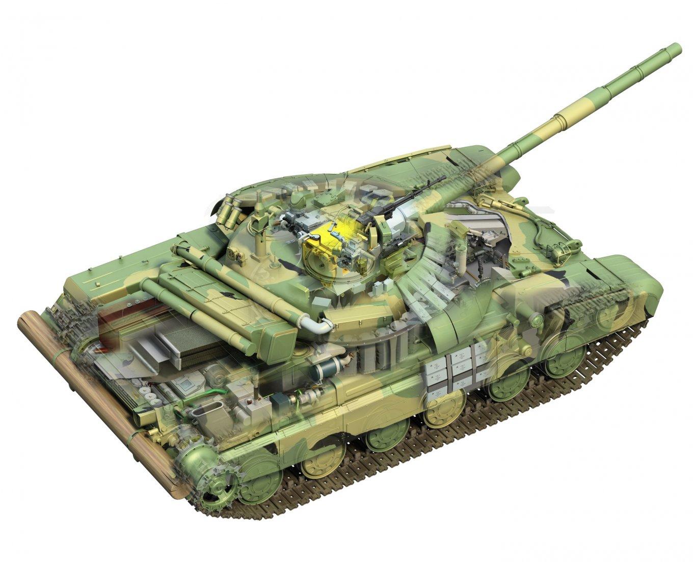Модернізація Т-64