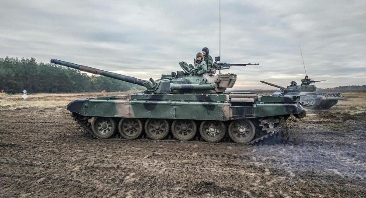 Т-72 Польща