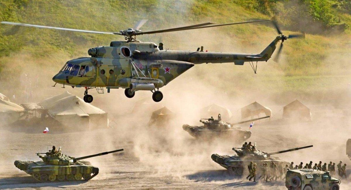 Росія збільшує кількість військових полігонів і кількість навчань