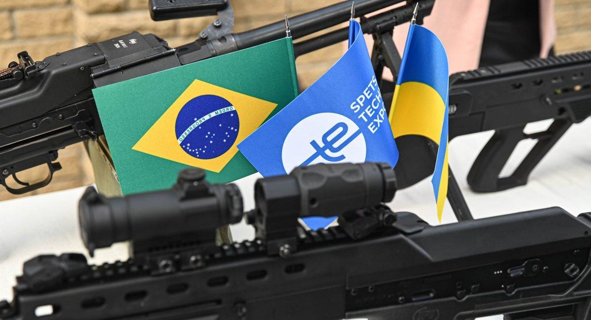Brasil voltou a cobrar preço de armas ucranianas (foto)
